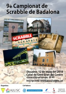 9è Campionat de Scrabble de Badalona